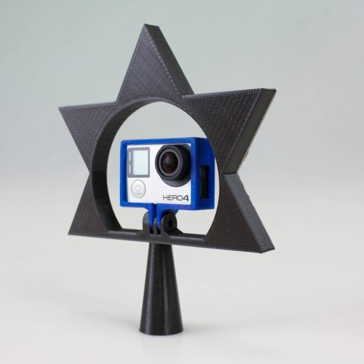 GoPro Star Christmas tree Topper
