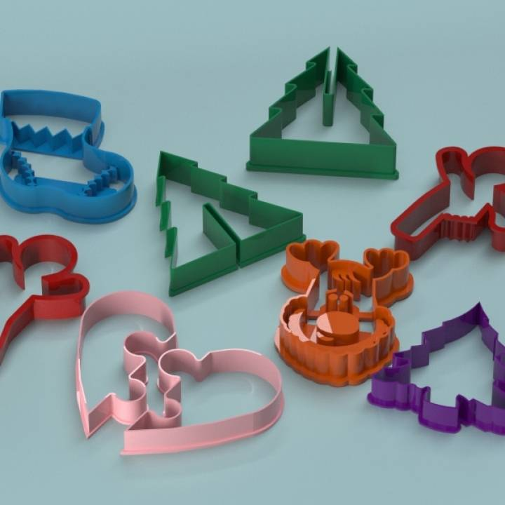 Merry Christmas! Cookie Cutters Collection! :)