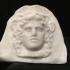 Antefix (end-tile): head of Artemis-Bendis at The British Museum, London image