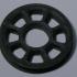 Cableway wheel sample STL file image