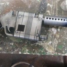 Picture of print of Rey's NN-14 Inspired Blaster