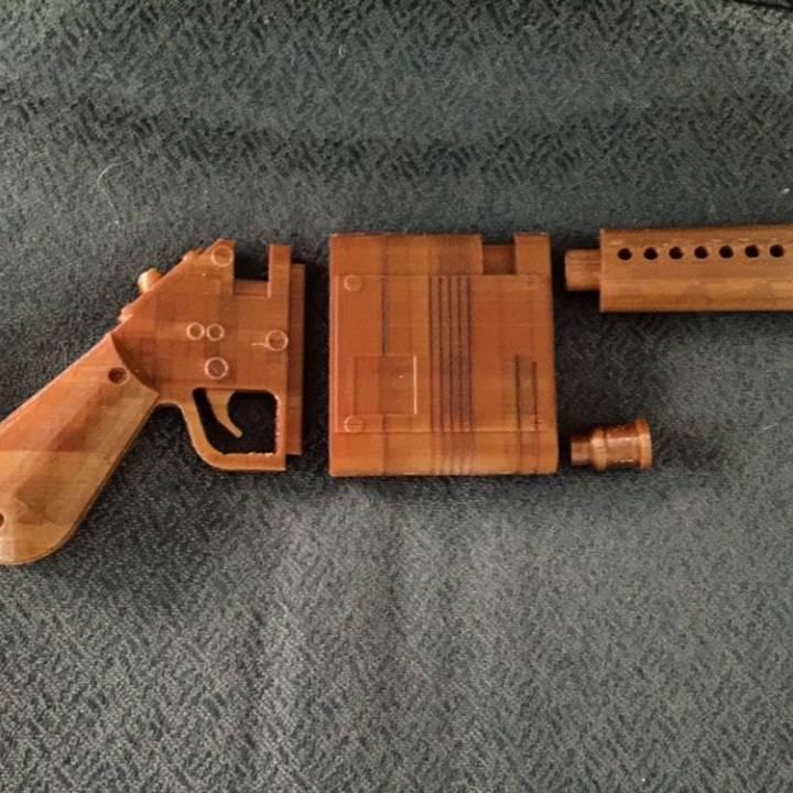 Rey's NN-14 Inspired Blaster