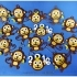 2016 HAPPY CHINESE NEW YEAR-YEAR OF The MONKEY Keychain / Magnets image