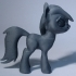 Black Star Pony image