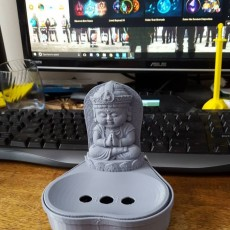 Picture of print of Little Buddha soap dish