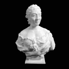 Bust of Lady Wallace at The Wallace Collection, London