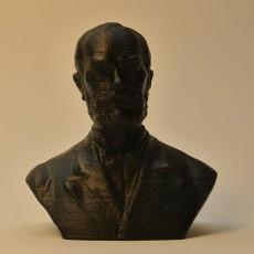 Picture of print of Ormos Zsigmond in Timisoara, Romania