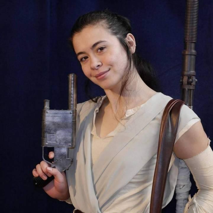 NN-14 Blaster, Rey's Blaster