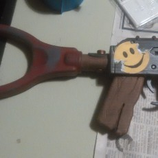 Picture of print of AK47 from Rust