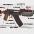 AK47 from Rust image