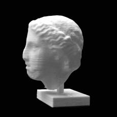 Female Head at The British Museum, London
