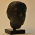 Female Head at The British Museum, London print image
