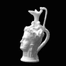Female-headed jug at The British Museum, London