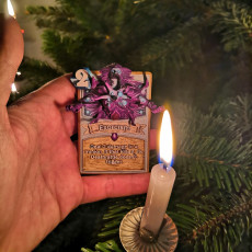 Picture of print of Hearthstone Exorcism!