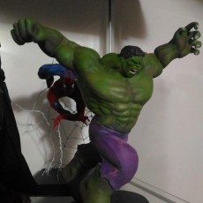 Hulk Statue by Fabio's Art box