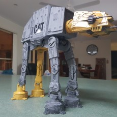 Picture of print of Detailed AT-AT from Star Wars Scale 1:75