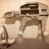 Detailed AT-AT from Star Wars Scale 1:75 print image
