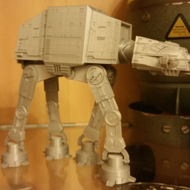Picture of print of Detailed AT-AT from Star Wars Scale 1:75 This print has been uploaded by ChrisCross