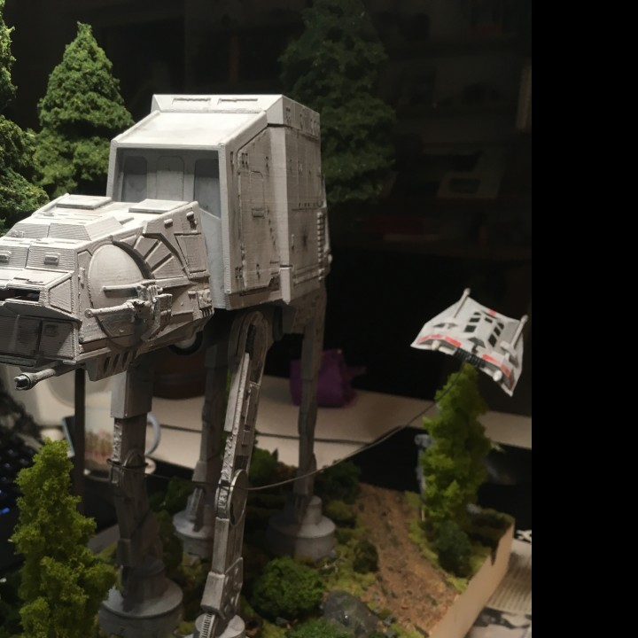 Picture of print of Detailed AT-AT from Star Wars Scale 1:75 This print has been uploaded by Peter Suneson