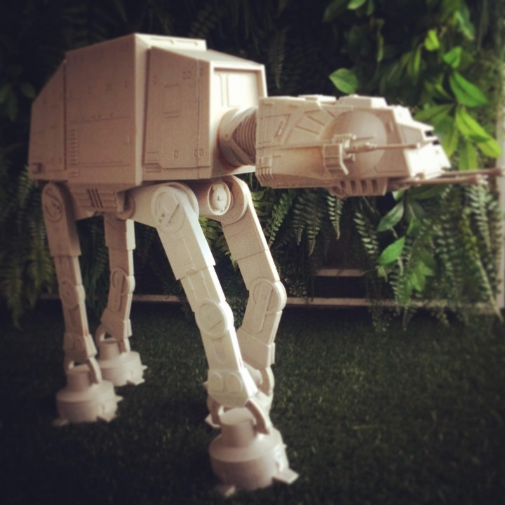 Picture of print of Detailed AT-AT from Star Wars Scale 1:75 This print has been uploaded by Hugo-archicad