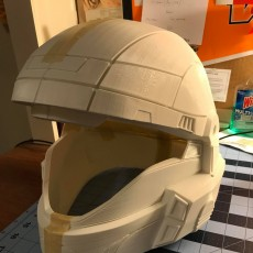 Picture of print of Halo 3 ODST helmet Wearable Cosplay
