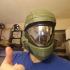 Halo 3 ODST helmet Wearable Cosplay print image