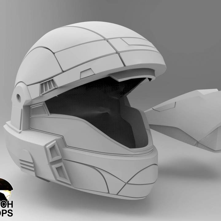 Halo 3 ODST helmet Wearable Cosplay