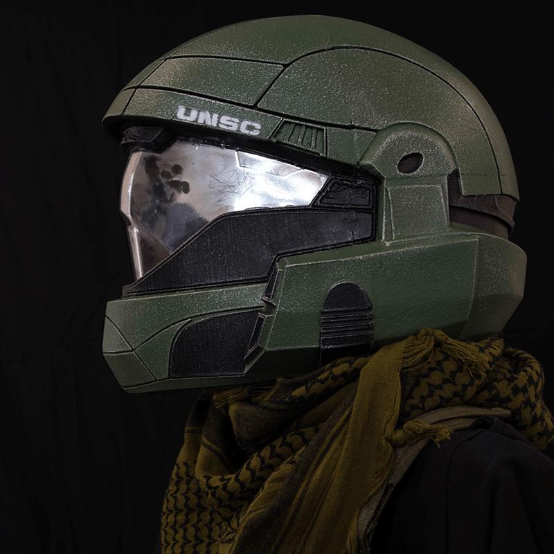 3D Printable Halo 3 ODST helmet Wearable Cosplay by jeffrey