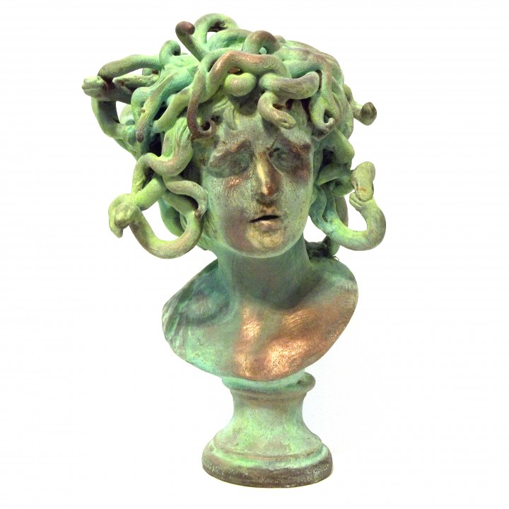 Picture of print of Bust of Medusa at The Musei Capitolini, Rome This print has been uploaded by 3DLirious