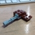 Gatling gun building brick image