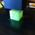 XYZ 20mm 3D printer Calibration Cube print image
