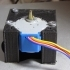 Adapter from motor 28BY-48 to motor 17HS image