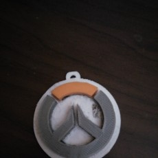 Picture of print of Overwatch Keychain