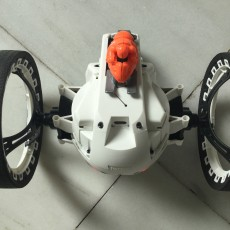 Picture of print of Battle Armor Parrot Race Drone!