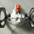 Battle Armor Parrot Race Drone! print image