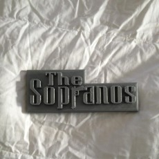 Picture of print of Sopranos Logo