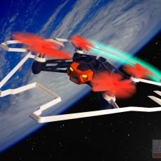 Millenium Falcon bumper for Parrot Airborne & Rolling Spider