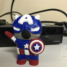 Picture of print of CAPTAIN KOALA-AMERICA