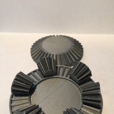 Picture of print of Rotating Gear set