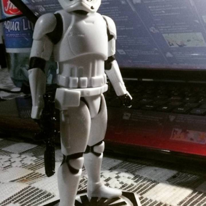 """Star Wars: The Force Awakens 6"""" Stormtrooper Stand"""