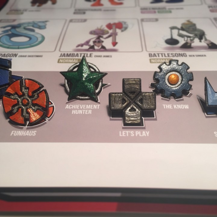 Picture of print of Rooster Teeth Pokemon Badges This print has been uploaded by Jon Cleaver