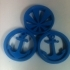 "Anchor & Rising Sun 1.5"" Ear Plugs image"