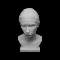 Woman's Portrait, Liusia at The National Art Museum, Ukraine