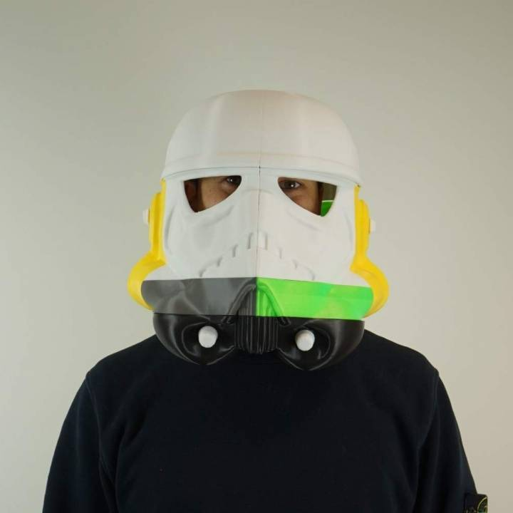 Storm Trooper Helmet (Wearable) Hi-Res