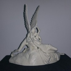 Picture of print of Psyche Revived by Cupid's Kiss at The Louvre, Paris This print has been uploaded by Gal Angel