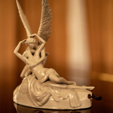 Picture of print of Psyche Revived by Cupid's Kiss at The Louvre, Paris