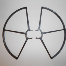 Picture of print of Parrot Bebop 2 Drone Propeller Guards