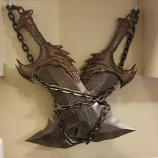 Picture of print of Blades of Chaos - God of War