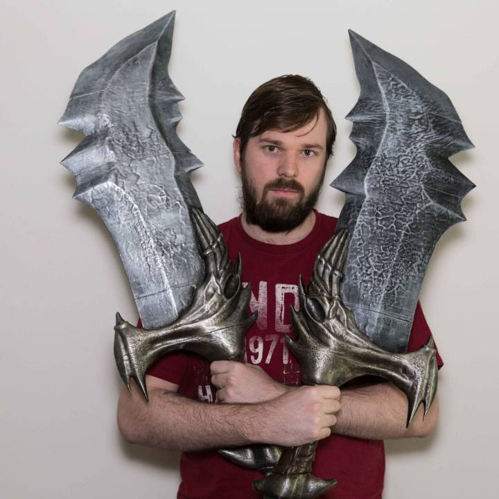 3D Printable Blades Of Chaos