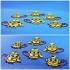 Monkey Minions Keychain / Magnets image